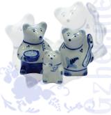 """Ск. """"Три медведя"""" авт.Копылов (Гжель-Малахит)"""