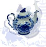 """Чайник """"Голубая рапсодия"""" (Гжельский ФЗ)"""