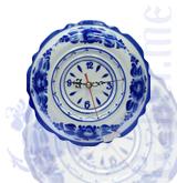 """Часы """"Ромашка"""" (Гжельский ФЗ)"""