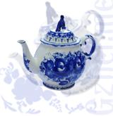 """Чайник """"Тюльпан"""" малый (Звезда Гжели)"""