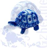 """Копилка """"Черепаха"""" (Гжель-Малахит)"""