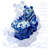 """Ск. """"Медведь с ульем"""" (Мастерская Поцелуевых)"""