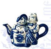 """Чайник """"Кошки"""" (Жгель)"""