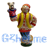 """Скульптура """"Скоморох с зайцем"""" мастерская Мухина"""