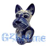 Скульптура Собака с башмаком Мастерская Ширенина