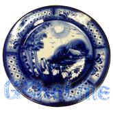 Тарелка декоративная Мастерская Пулеметовых