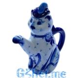 """Чайник """"Кот """" (Мастерская М.Тарыгина)"""