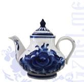 Чайник малый сервизный (Гжельский ФЗ)