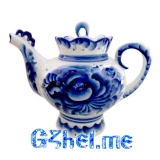 Чайник бол. набор Подарочный (Гжельский ФЗ)